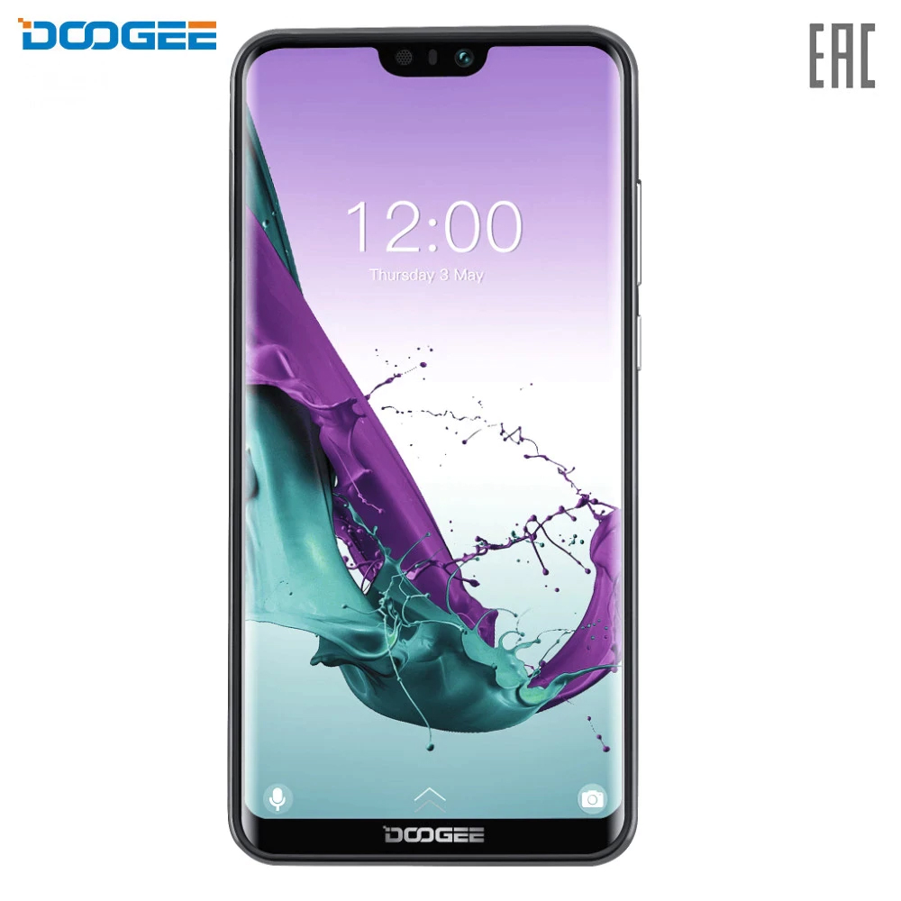 Mobile Phones Doogee Y7 smartphone pure android capacious powerful battery Y 7 5.84 19:9 2280x1080 8 Core 3GB RAM 16Mpix+13Mpix 16Mpix 2 Sim 3G LTE Micro-USB battery capacity 3360mAh Android 8.1