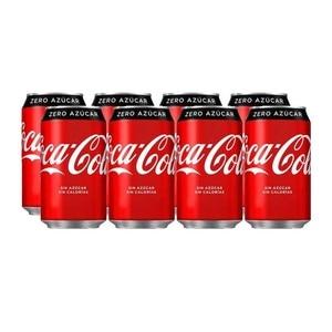 Coca-Cola Zero lata, pack 8x33cl