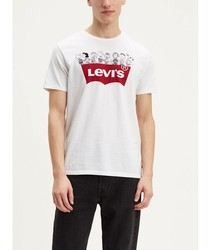 T-shirt Levis®X Peanuts Graphic Tee short sleeve T PATTERNED snoopis for mens branded menswear