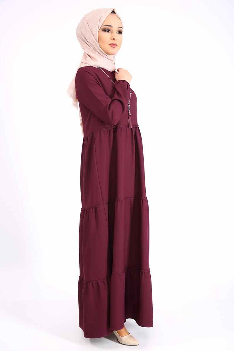 Collana Arricciato Vestito TSD9900 Damson