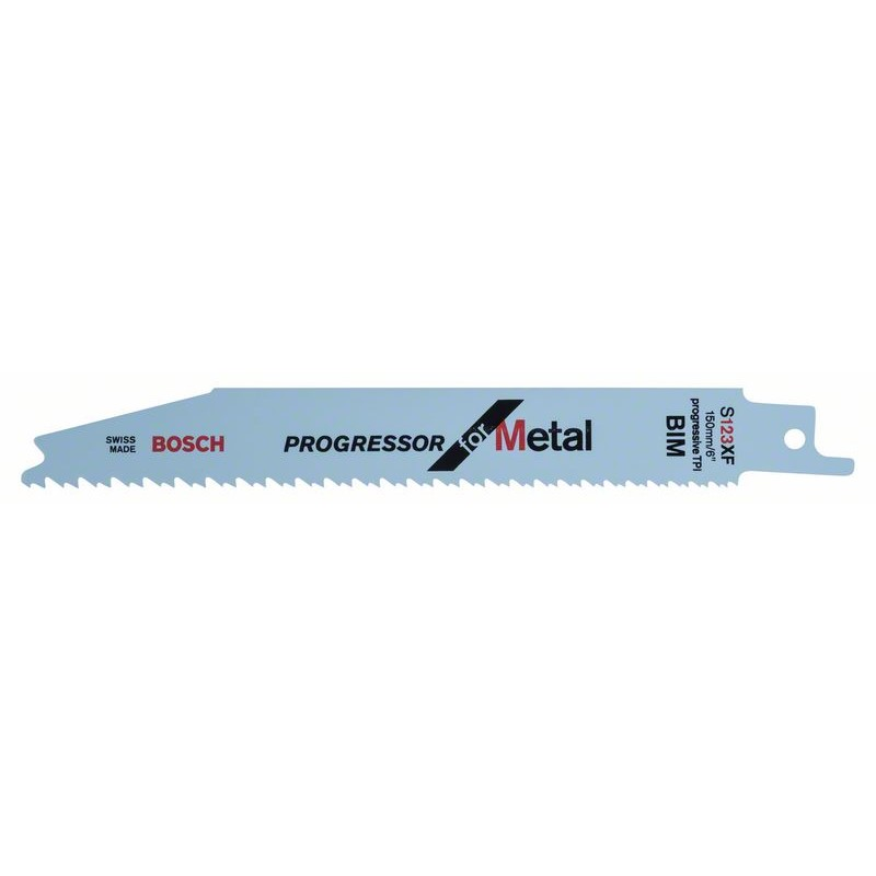 BOSCH-saw Blade Sable S 123 XF Progressor For Metal