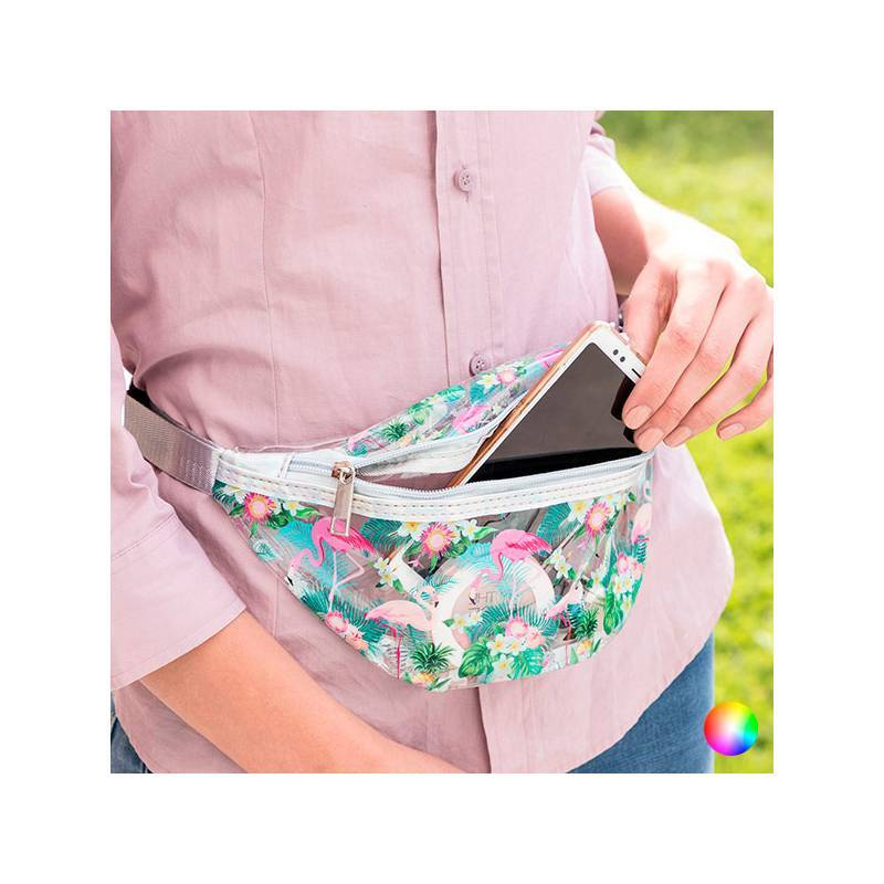 Fanny Pack Transparent Tropical