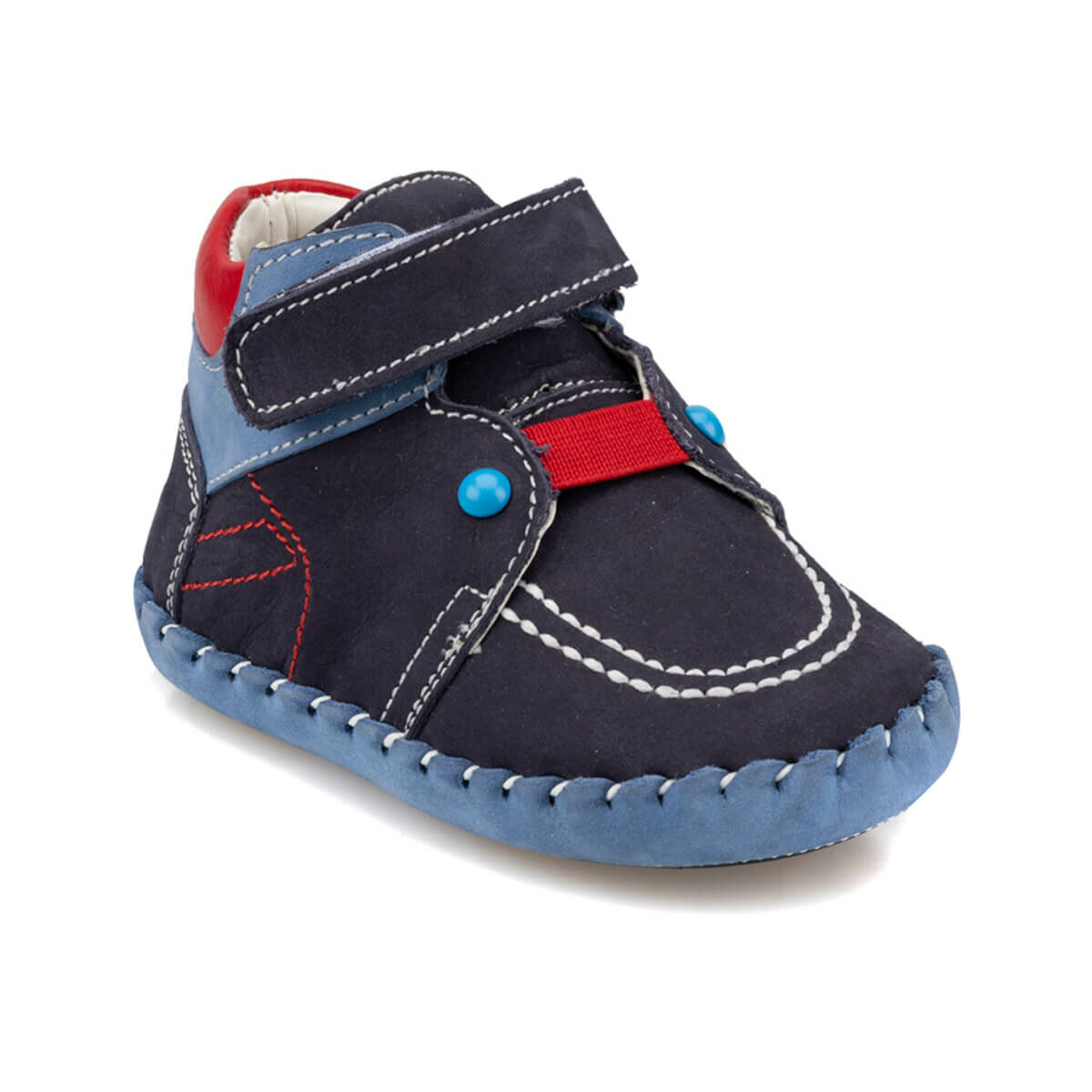FLO 92.511701.I Navy Blue Male Child Sports Shoes Polaris