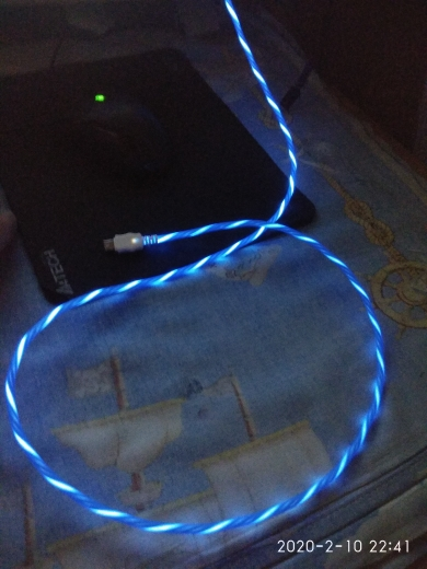 LED Glow Flowing Data USB Charger Type C/Micro USB/8 Pin Charging Cable for iPhone X Samsung Galaxy S9 S8 Charge Wire Cord|Mobile Phone Cables| |  - AliExpress