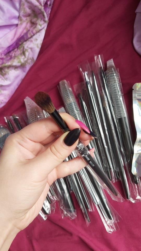 Jessup New Arrival Makeup brushes brushes Phantom Black 3-21pcs Foundation brush Powder Concealer Eyeshadow Synthetic hair reviews №2 177770