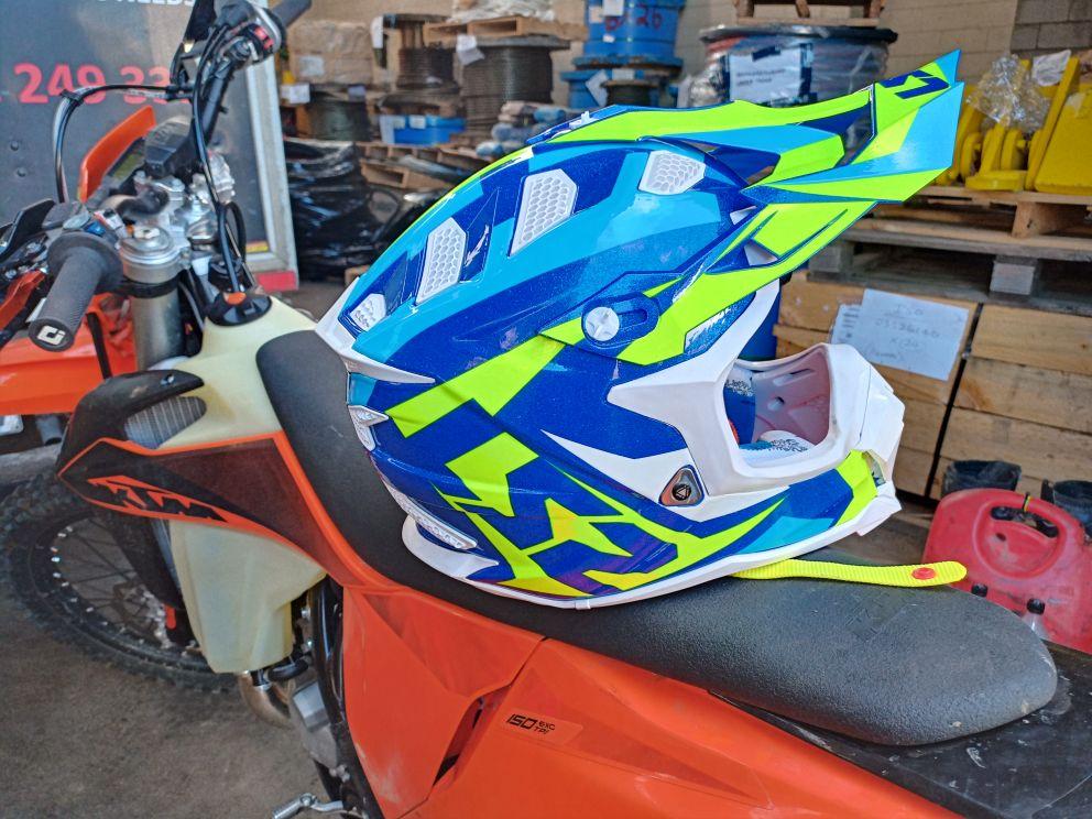 -- Capacete Motocross Tecnologia