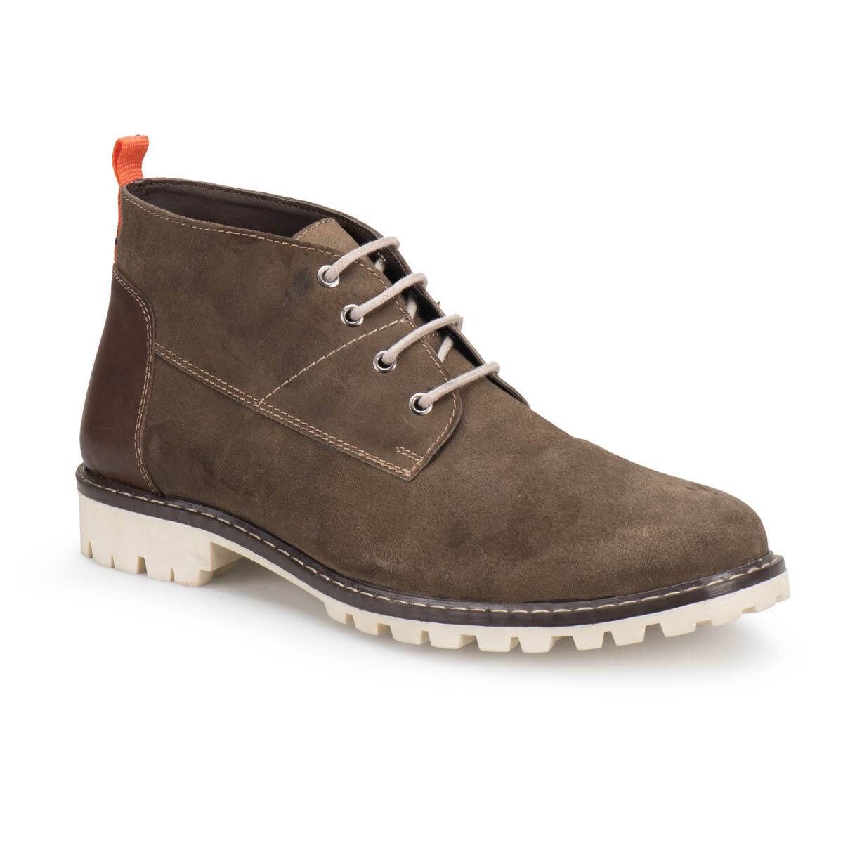 FLO 228 Sand Color Men Boots Forester