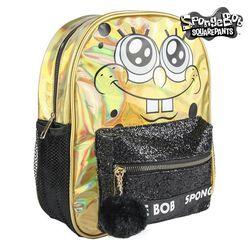 Casual Backpack Spongebob 72721 Golden Black