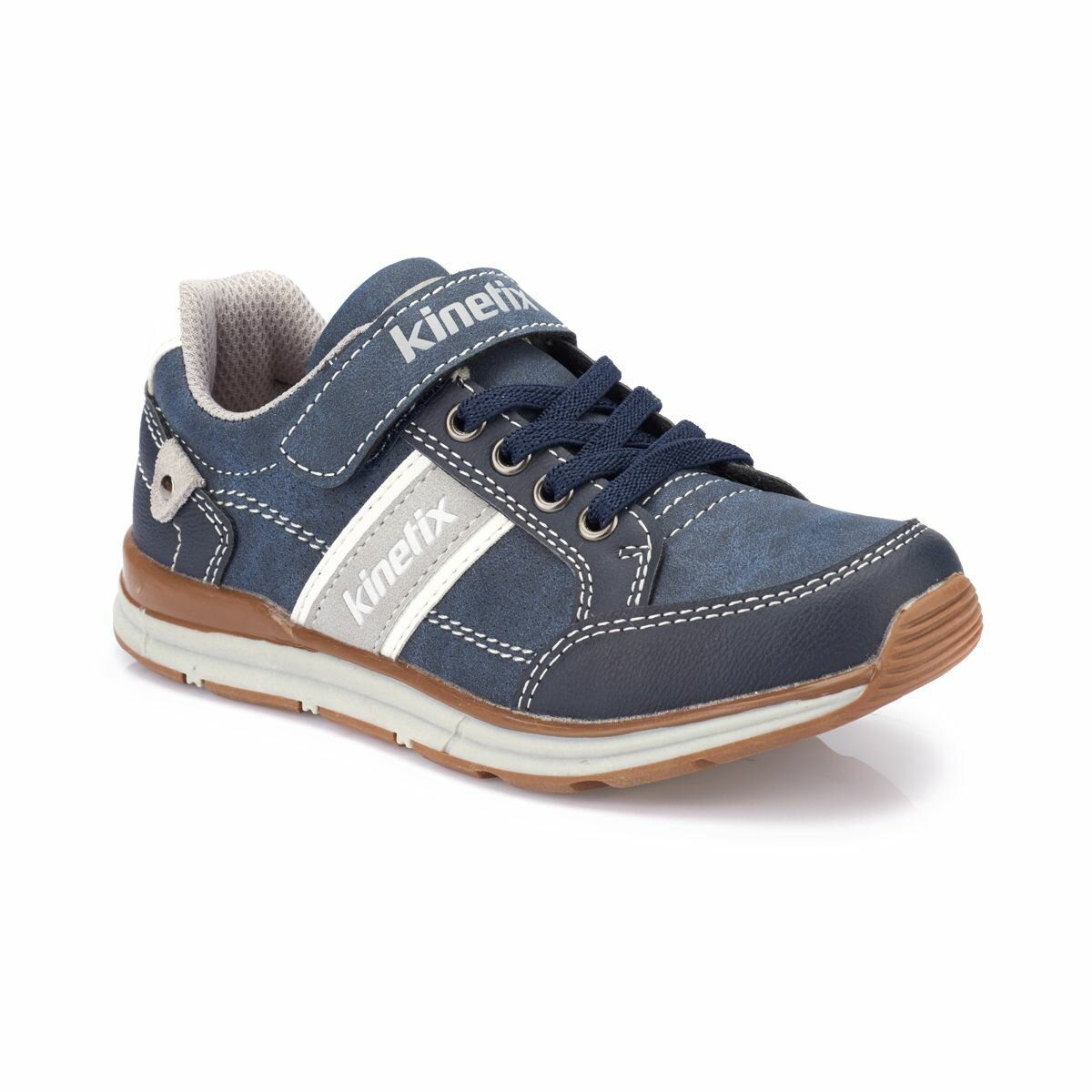 FLO ALFONI Navy Blue Male Child Sneaker Shoes KINETIX