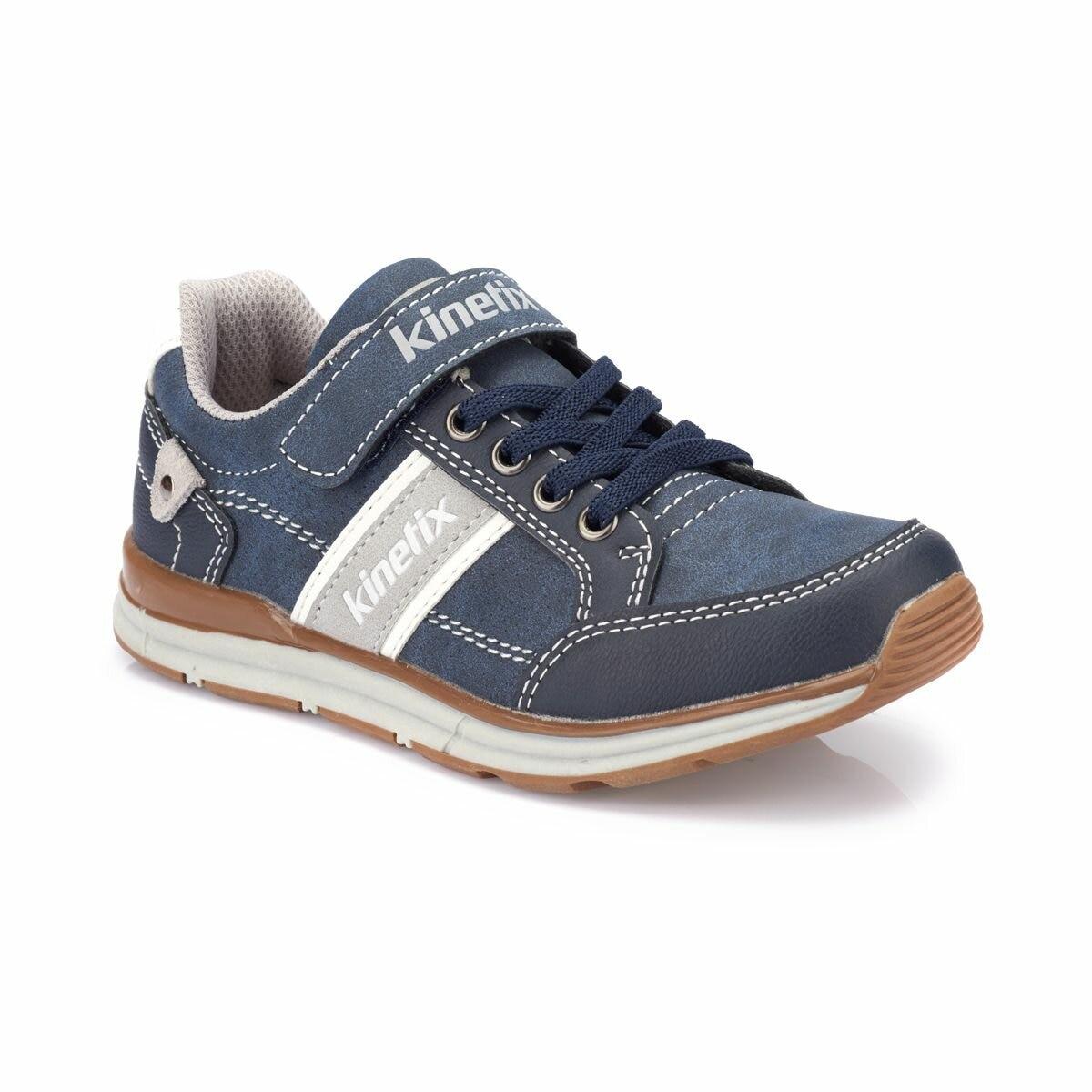 FLO ALFONI Navy Blue Male Child Sneaker Shoes KINETIX