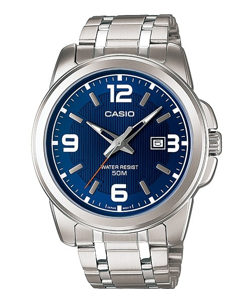 Casio Watch Man  %100 Original Luxury Set 50m. Waterproof  Fasion Men Watch,  MTP-1314D-2AVDF