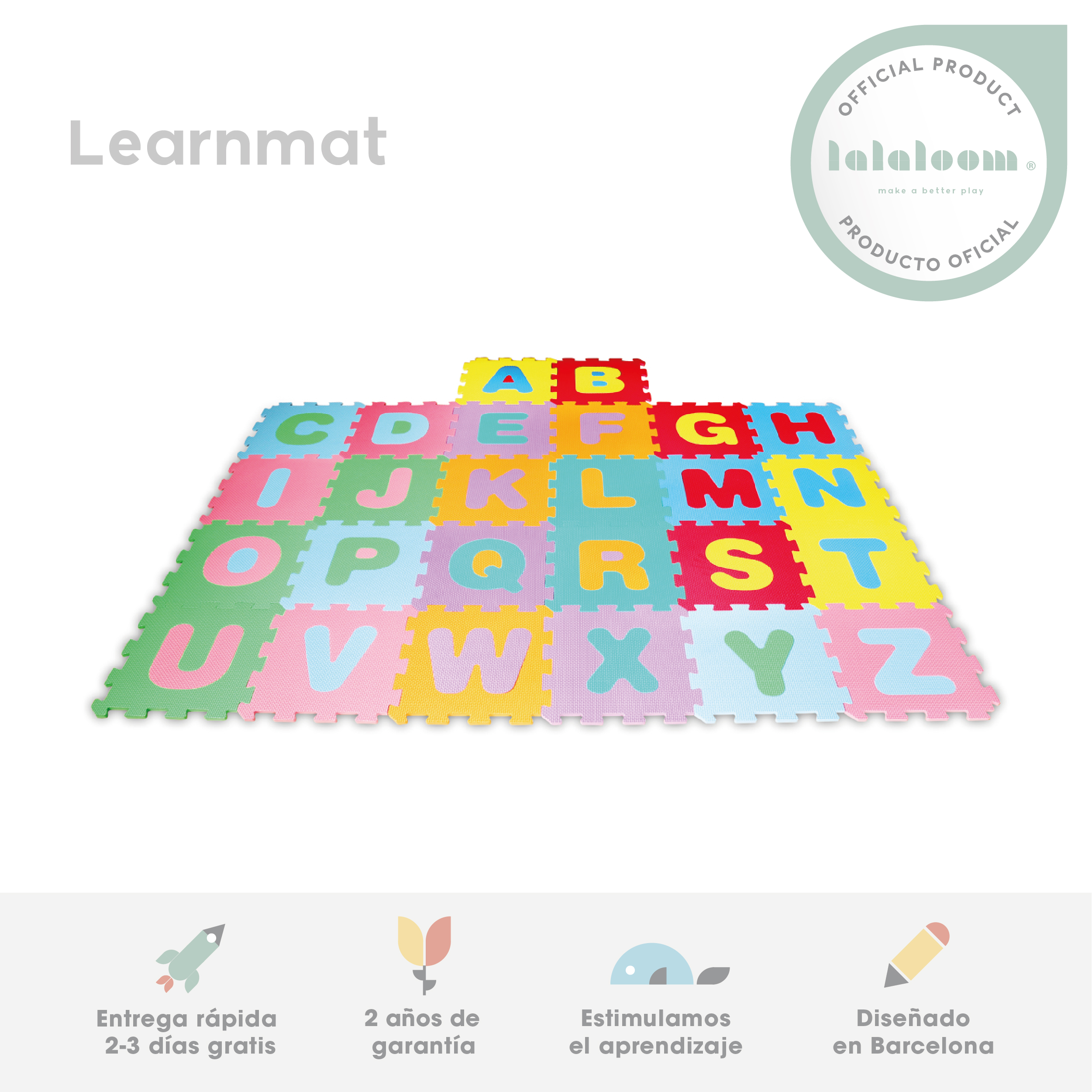 KID'S Rug And Game Letters Puzzle Bebe Children Room In EVA Foam