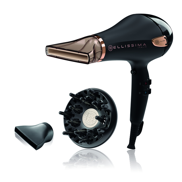 Bellissima Hair dryer My Pro Ceramic P5 3800 for about curls Natural 1