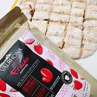 甜蜜又浪漫的 | 草莓牛轧糖 #安佳食力召集,力挺新一年#的做法图解7