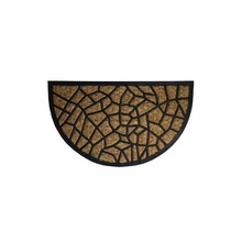 Doormat Coconut Fiber AND Rubber 1/2 Moon 45×75 cm.