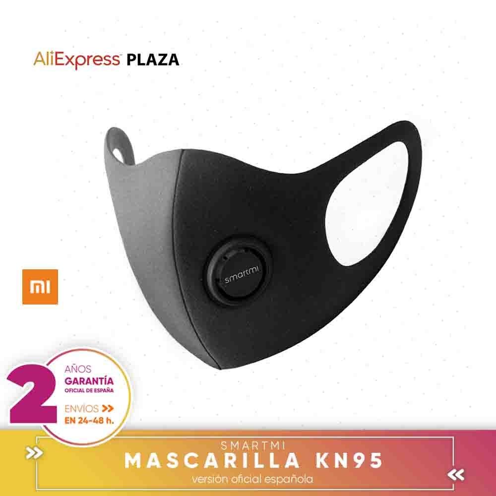 Smartmi Mascarilla Con Filtro Deportiva Anticontaminación Oreja PM2.5,diseño 3D De Moda, Ajustable Por Xiaomi Mijia