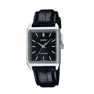 Casio mężczyźni % 100 oryginalne zegarki skórzany modny Top marka luksusowe odporność na wodę technologia kwarcowy mężczyźni prezenty Casual Watch MTP-V007L