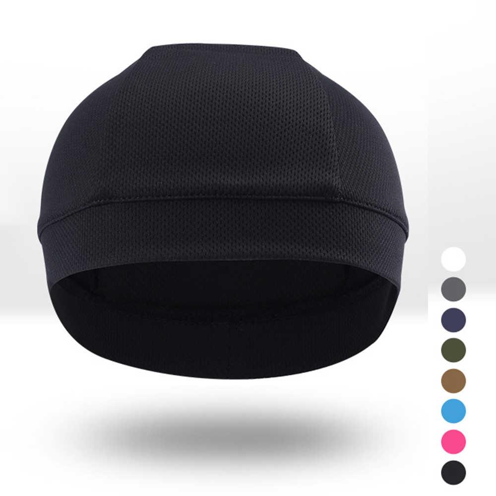 Kask motocyklowy wewnętrzna czapka motor terenowy kask pełna twarz kask motocyklowy wewnętrzna czapka ciepły zimowy Wicking codzienny kapelusz czapka czapka