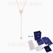 Модные ювелирные изделия swa новые точно y образные ожерелья