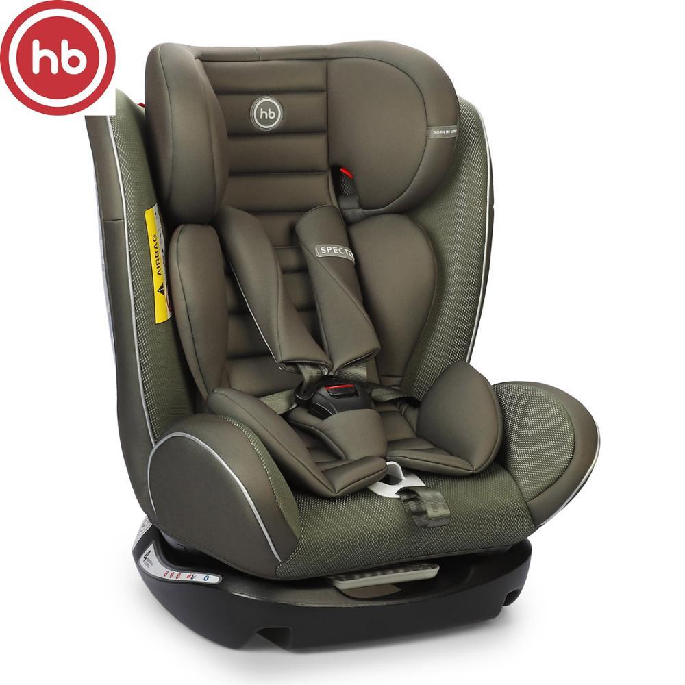 Sièges de sécurité voiture enfant heureux bébé spector pour filles et garçons siège bébé enfants enfants chaise autoberceau booster noir