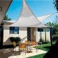 Солнцезащитный козырек  парус  садовый триангулятор 5x5x5 метров белый