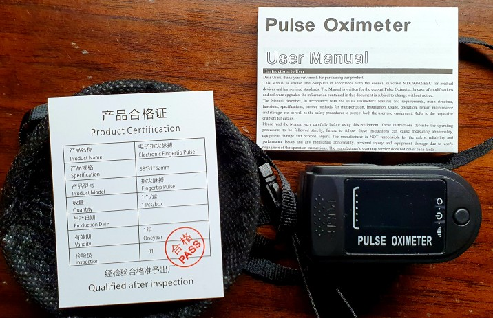 Oxymètre de doigt XT7240
