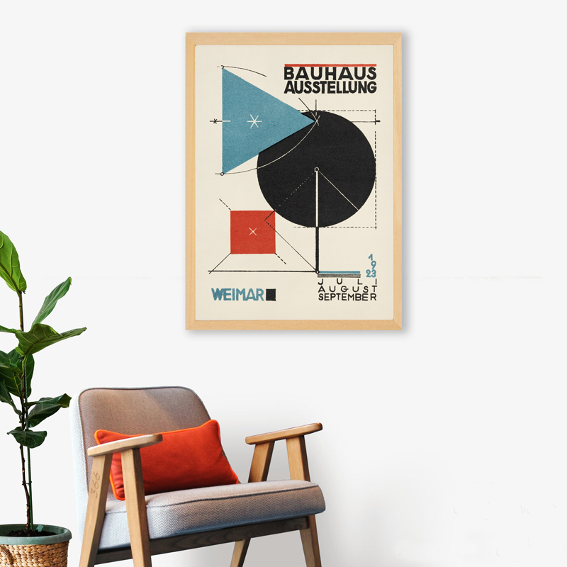 Bauhaus Art Exhibition print