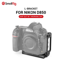 SmallRig Quick Release Plate L Bracket for Nikon D850 L Plate With Arca Swiss Plate for Camera Photo Shooting 2232