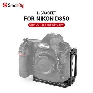 Image 1 - SmallRig hızlı bırakma plakası için l braketi Nikon D850 L plaka Arca İsviçre plakası kamera fotoğraf çekim için 2232