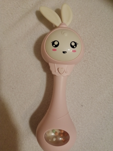 Baby's Music Teether Bunny Rattle Toy photo review