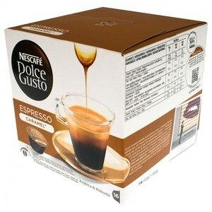 Coffee Espresso Caramel, Nescafé Dolce Gusto, 16 PCs