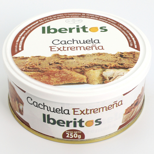 IBERITOS - Cachuela extreme in cans 250 G - 250 G CACHUELA spreadable