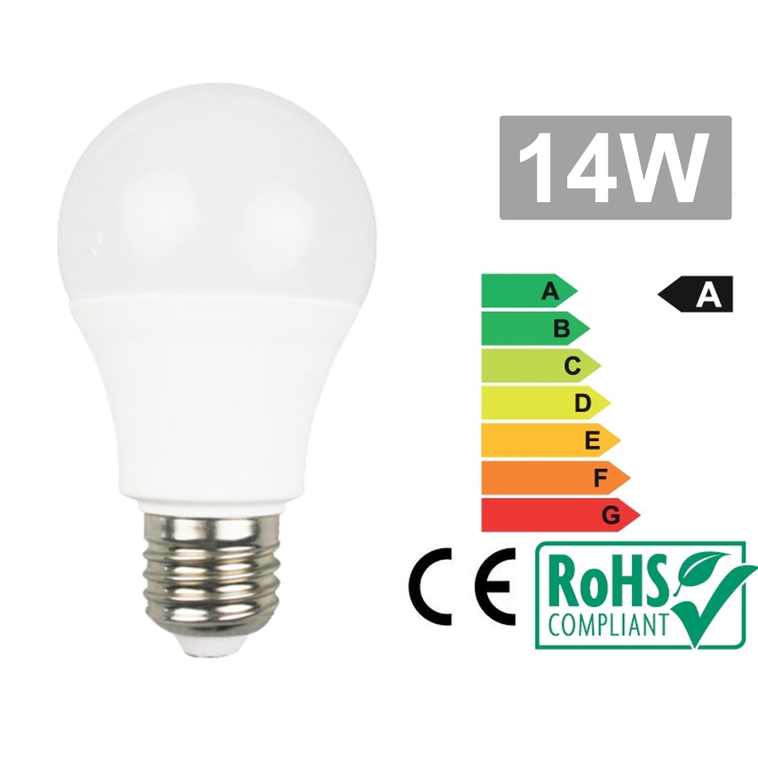 Led bulb E27 14W 6500k cold white