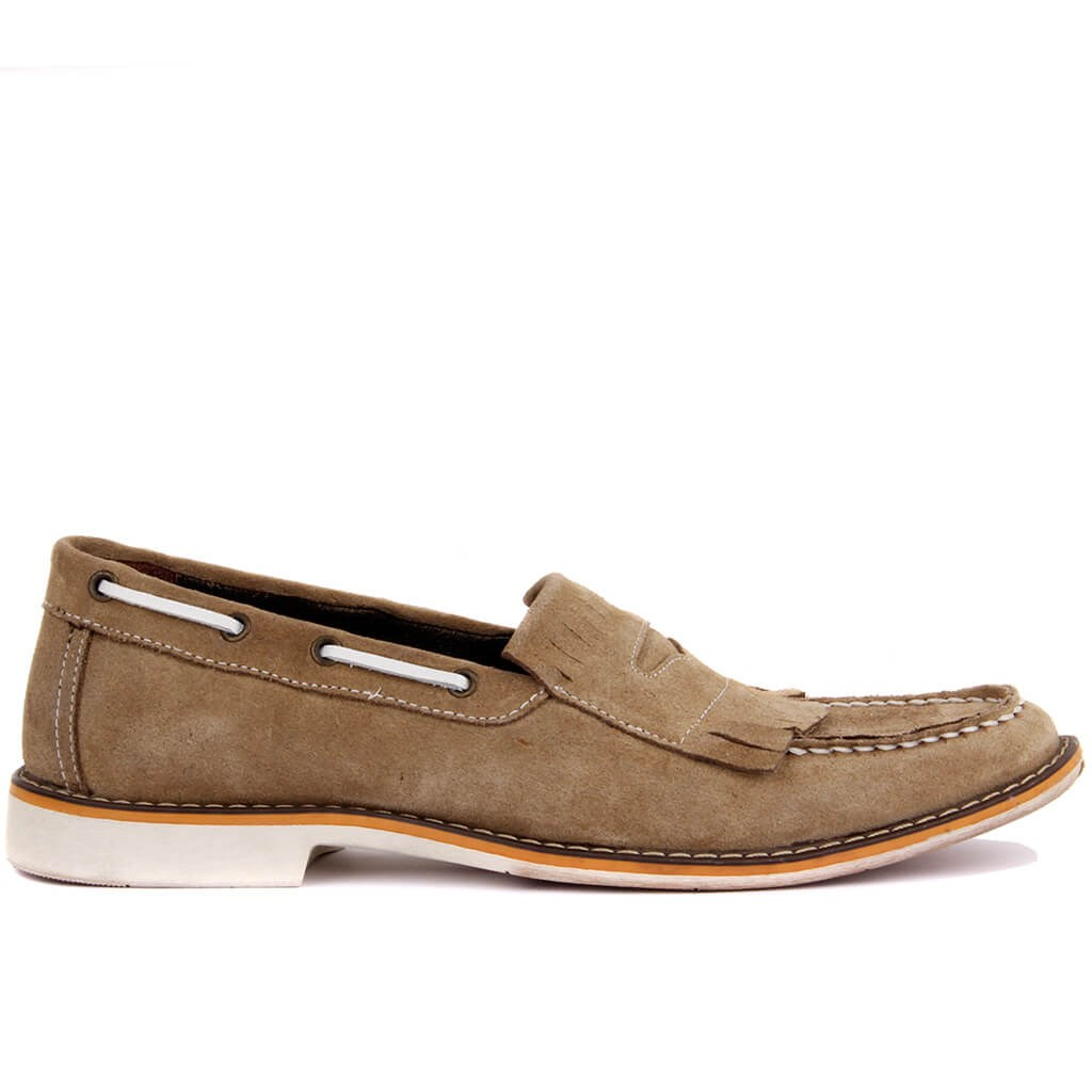 Sail Lakers-Sand Suede Men Casual Shoes