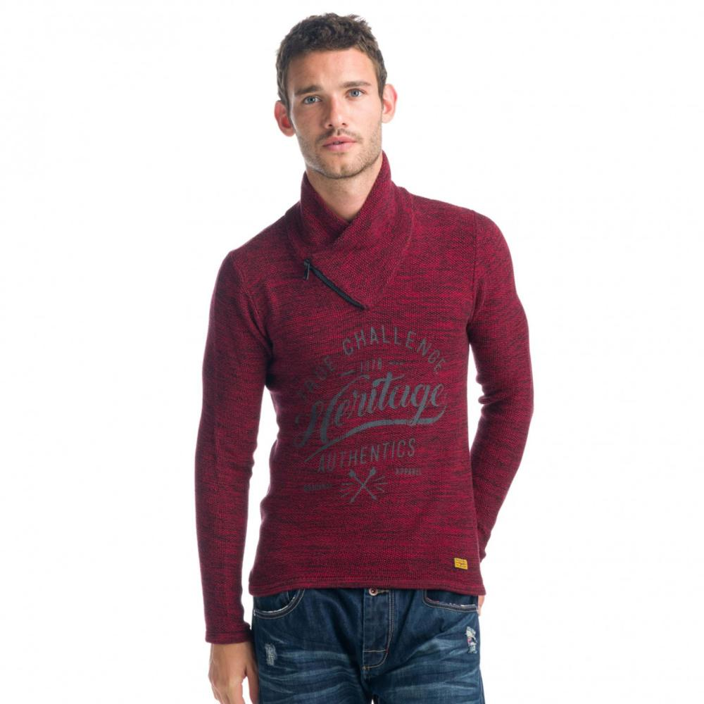 KOROSHI SWEATER TRICOT GAUGE HALF COTTON MAN