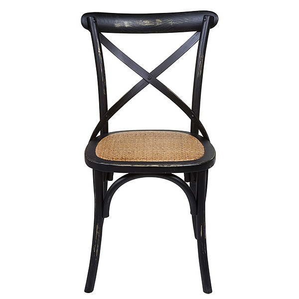 Dining Chair Elm Wood (45 X 42 X 88 Cm)