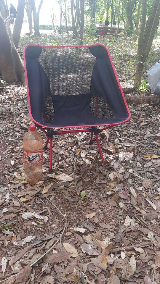 Cadeiras de pesca Acampamento Cadeira Dobrável