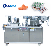 Candyland DDP A Flat AI/PI Automatic Blister Packaging Machine For Capsule Pill Tablet Sealing Machine