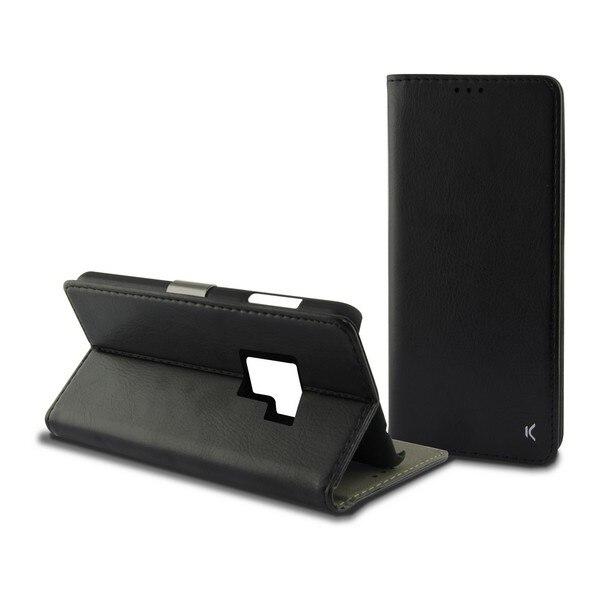Folio Mobile Phone Case Galaxy S9 Plus Slim Black|  - title=