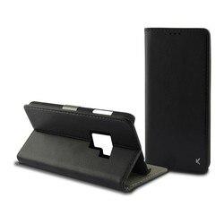 Folio etui na telefon komórkowy Galaxy S9 Plus KSIX Slim Black