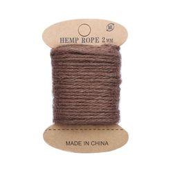 Cuerda de yute, 10 m (marrón)