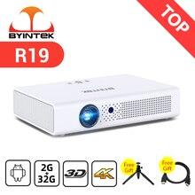 BYINTEK – Mini projecteur intelligent pour home cinéma 1080 pouces, 3D, 4K, Android, WIFI, LED, DLP, Full HD, 300 P