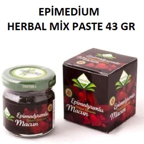 Epimedium past aphrodisiac horny goat weed Ginseng Viagra herbal honey aphrodisiac sex men women wild hot performance 43G