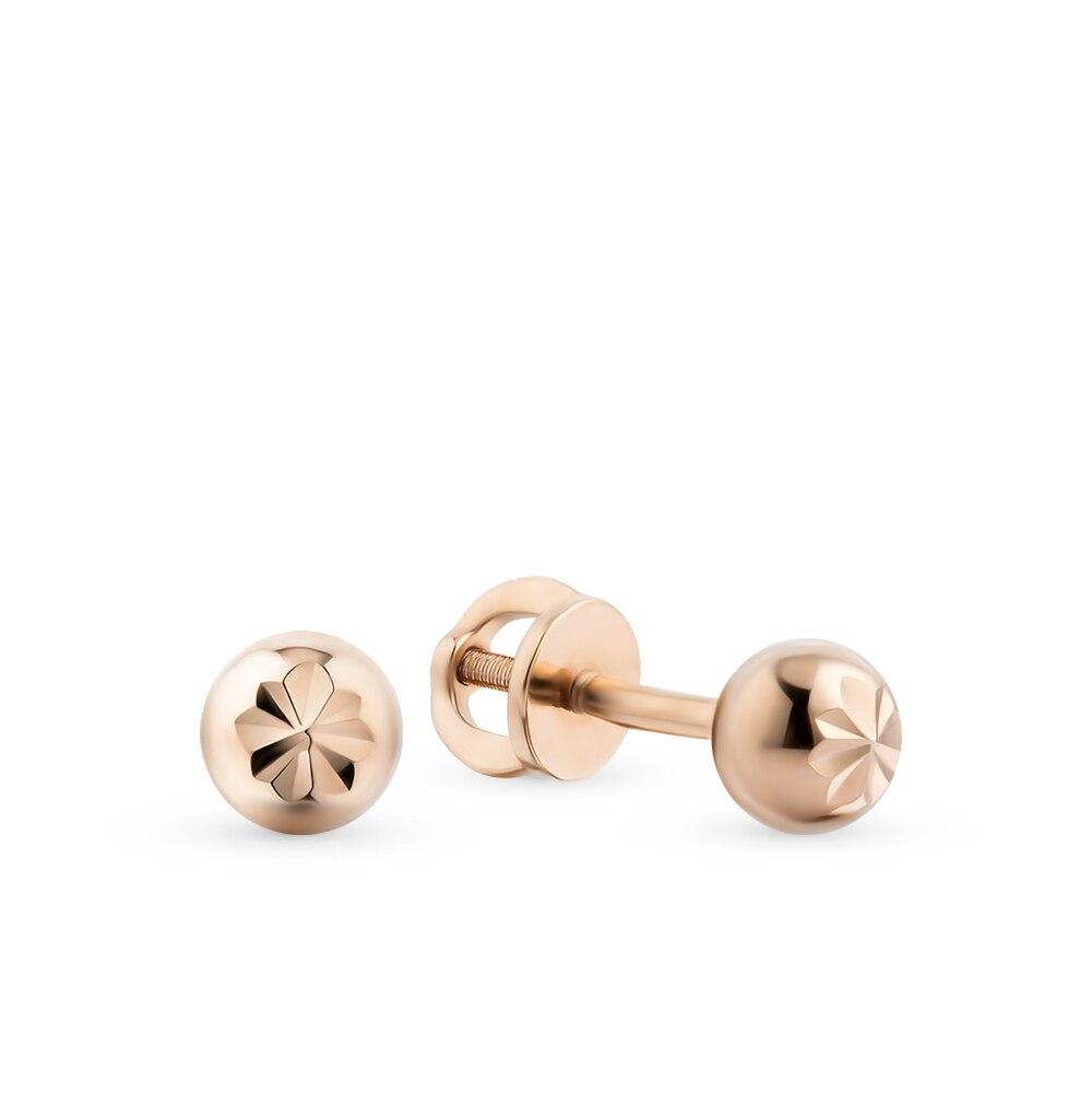 Golden SUNLIGHT earrings 585 sterling silver стельки 9520