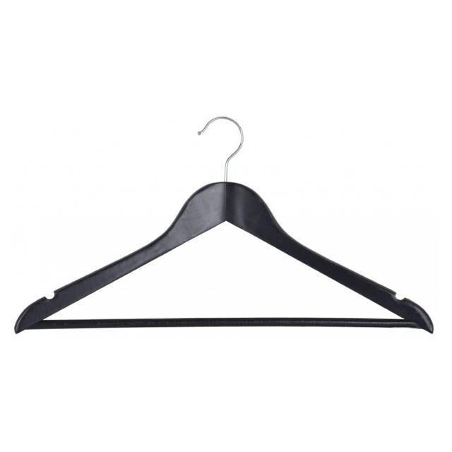 9 шт. в наборе черные деревянные вешалки стойки для гардероба организации одежды