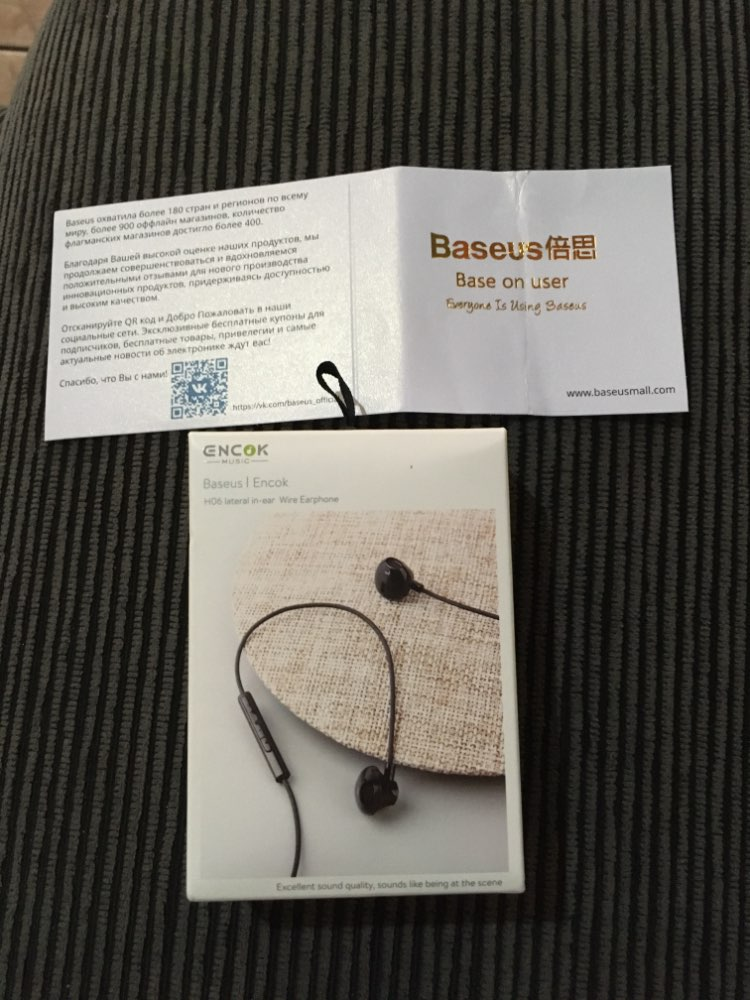 Baseus 6D Stereo In ear Earphone Headphones Wired Control Bass Sound Earbuds for Xiaomi 3.5mm Type c Earphones|Phone Earphones & Headphones|   - AliExpress