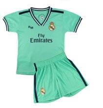 Kit Camiseta y Pantalón Infantil Tercera Equipación - Real Madrid - Réplica Autorizada - Jugadores