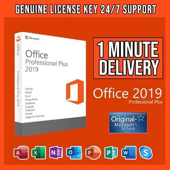 Microsoft Office 2019 Professional Plus License key Lifetime Activation Pro All Languages