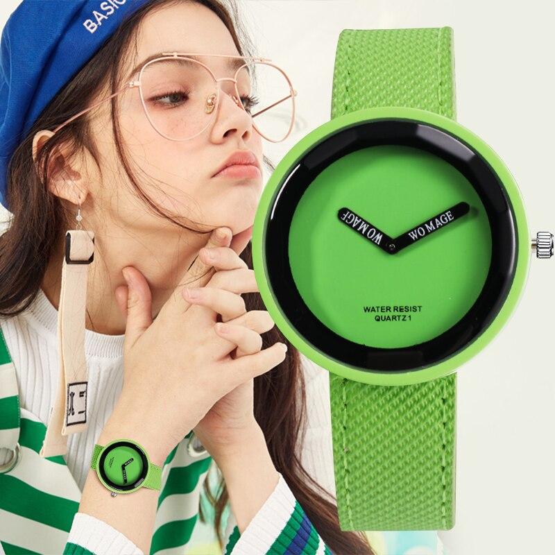 Hot Sale Fashion Women's Watches Leather Ladies Watch Women Watches Young Girl Watch Simple Clock Reloj Mujer Relogio Feminino
