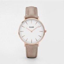 CLUSE часы LA BOHEME розовое золото Белый/фундук CL18031
